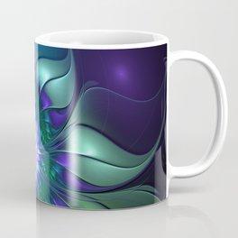Abstract Flower Colorful Fractal Art Coffee Mug