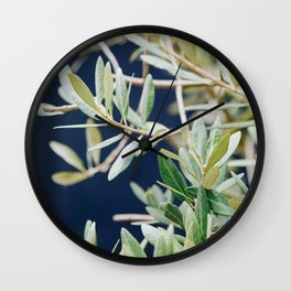 Photo of a Mediterranean Olive Tree II, in Trastevere Rome, Italy | Fine Art Travel Photography |  Wall Clock