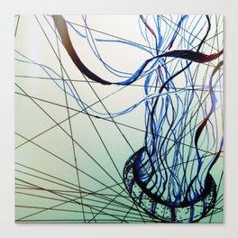 Geometric Jelly Canvas Print