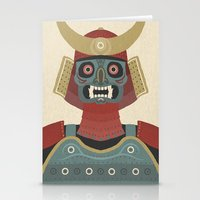 samurai Stationery Cards featuring Samurai by James White