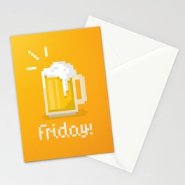 Pixel Friday Stationery Cards