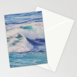 Rolling Blue Stationery Cards
