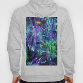 Abstract Prismatic Colors Hoody