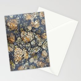 Bark Batik Ink#12 Stationery Cards