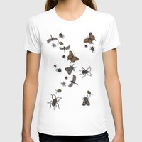 bugs T-shirts featuring BUGS by Rachael Powick