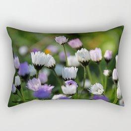 Sleep in the grass Rectangular Pillow