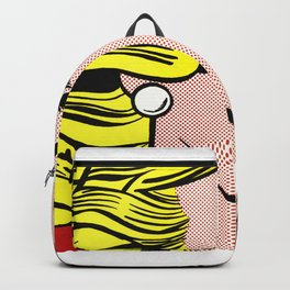 Roy Lichtenstein - Crying Girl 1963 Backpack