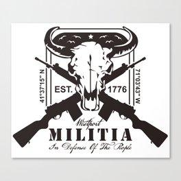 MILITIA Canvas Print