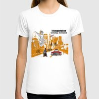 technology T-shirts featuring  Transportation  technology by Design4u Studio