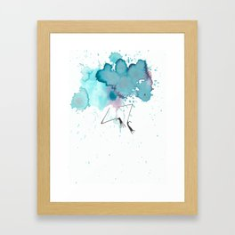 No Spring Chicken Framed Art Print