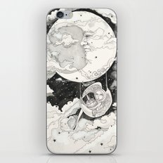 Moon Angel iPhone & iPod Skin