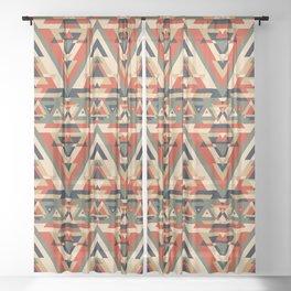 But I'm 1/64 Cherokee Seamless Pattern Sheer Curtain