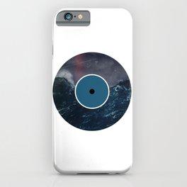 Vinyl Record Art & Design | Stormy Ocean iPhone Case
