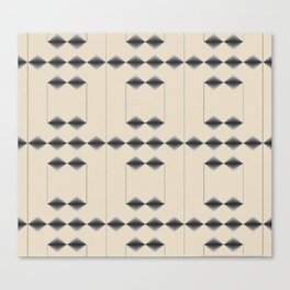 Diamond Stripes Canvas Print
