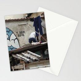 Cuban Streetart - Blue Sky Stationery Cards