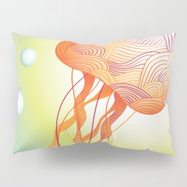 Tertiary Jellyfish Pillow Sham