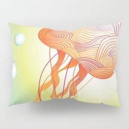 Tertiary Jellyfish Pillow Sham
