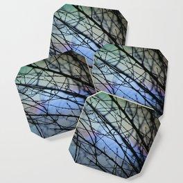 rainbow blue Coaster