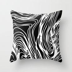 5050 No.4 Throw Pillow