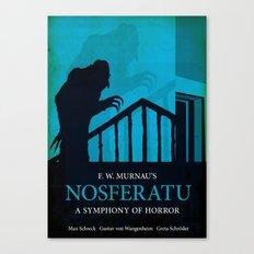 Nosferatu - A Symphony of Horror Canvas Print