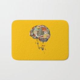 brain kludge Bath Mat
