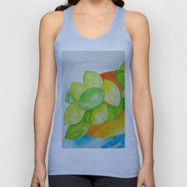 Lime Bowl Unisex Tank Top