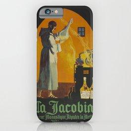 Vintage poster - La Jacobine Absinthe iPhone Case