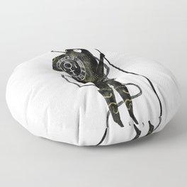 Warrior Princess Floor Pillow