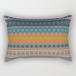 Vintage tribal aztec pattern Rectangular Pillow