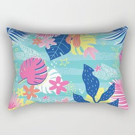 Tropical Vibes Rectangular Pillow