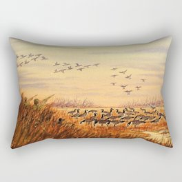 Goose Hunting Companions Rectangular Pillow