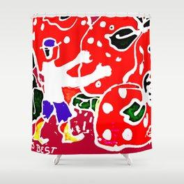 Australia's Strawberries         by Kay Lipton Shower Curtain