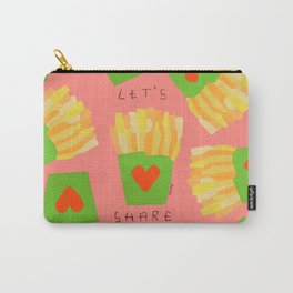 It's Such a Difficult Time So Let's Share - love Carry-All Pouch
