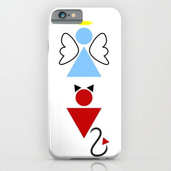 Dengel (Angel + Devil) iPhone & iPod Case