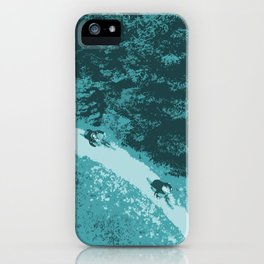 Two bikers iPhone Case