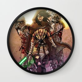 Zombie Stormtroopers Wall Clock