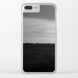 Traveling Light Clear iPhone Case
