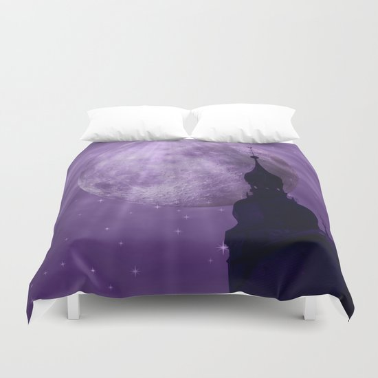 Starry Night - JUSTART © Duvet Cover