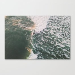 Two sides of the wave, 2018 Canvas Print