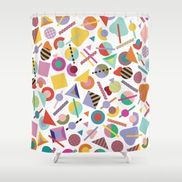 Less is a Bore Summer Shower Curtain
