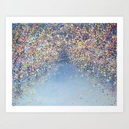 Memory of Sakura Art Print