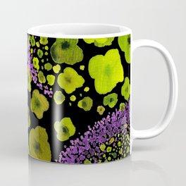 Paths of Color [green & purple] Coffee Mug