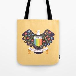 Dreaming (not Screaming) Eagle Tote Bag