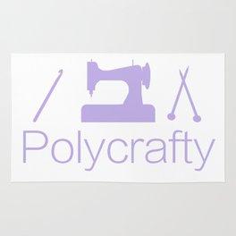 Polycrafty: Sewing Knitting Crochet Rug