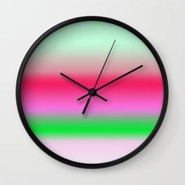 Tropical Gradient(2) Wall Clock