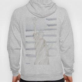 Lady Liberty • Americana Sepia Hoody