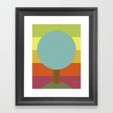 NATURE'S FALL Framed Art Print