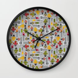 Extreme gardening Wall Clock