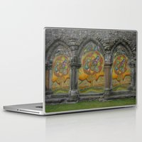 doors Laptop & iPad Skins featuring Doors by Nicholas Bremner - Autotelic Art