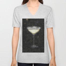 Champagne Nebula Unisex V-Neck